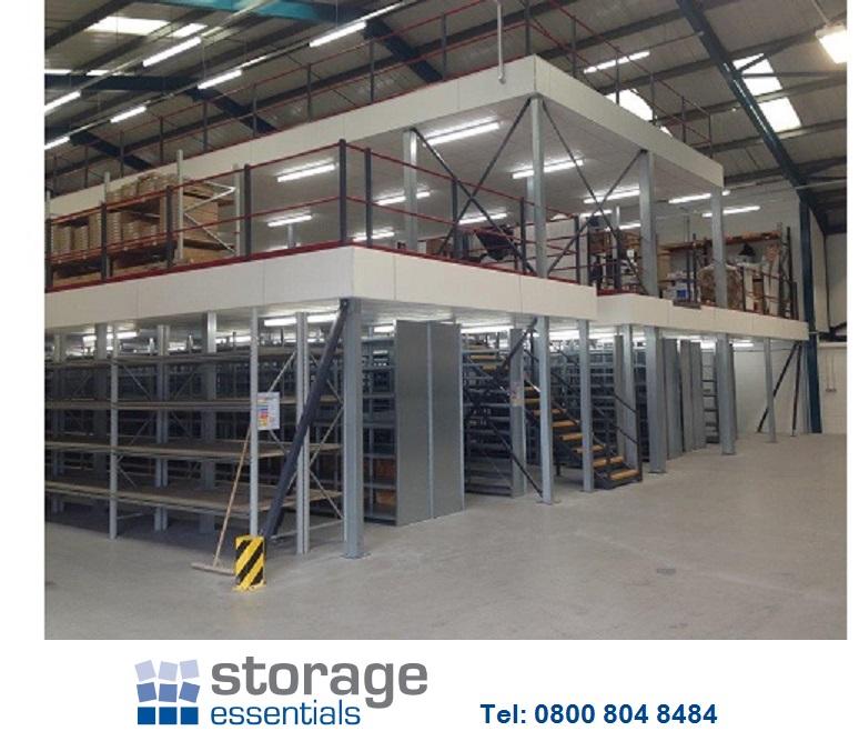 Mezzanine floor suppliers storage essentials for How to build a mezzanine floor in your home